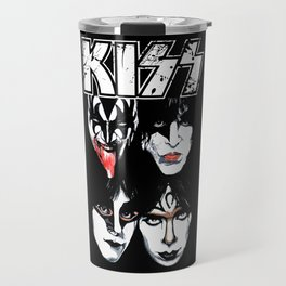 Kiss Band Travel Mug