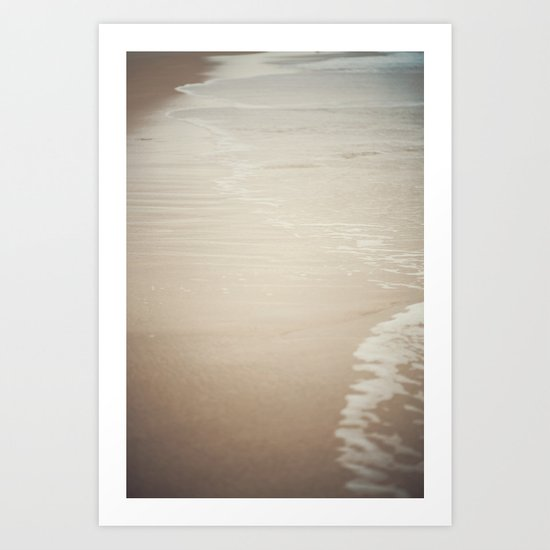 Where Land Meets Sea Art Print