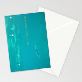 much better underwater Stationery Cards
