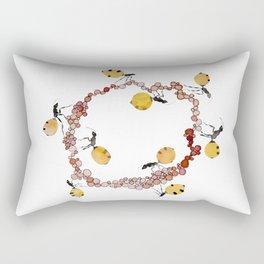 Honey Ant Roundabout Rectangular Pillow
