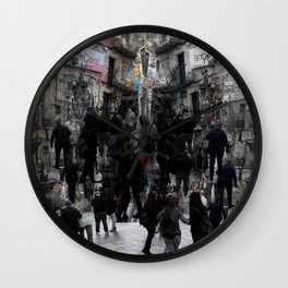 Envision the flight with some sort of imagination. [B] Wall Clock