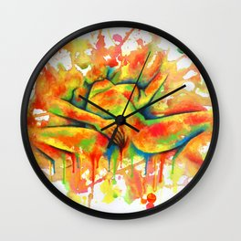 Colorful Climax Wall Clock