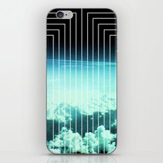 Straight to Blue iPhone & iPod Skin