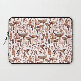 Watercolor Mushrooms Laptop Sleeve
