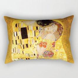 The Kiss - Gustav Klimt Rectangular Pillow