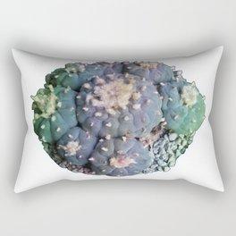 Peyote Lophophora - Psychedelic Cacti Rectangular Pillow
