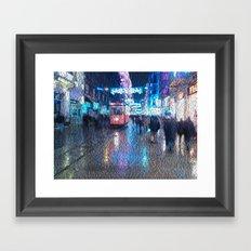 Taksim Framed Art Print