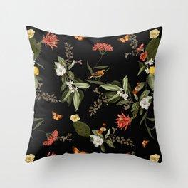 Biodiversity Throw Pillow
