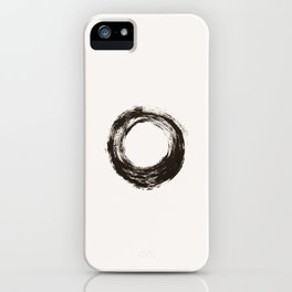 To live is enough iPhone Case