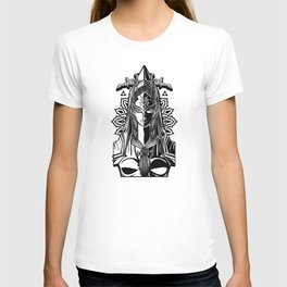 Legend of Zelda Midna the Twilight Princess Line Work T-shirt