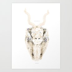 Strength + Power Art Print