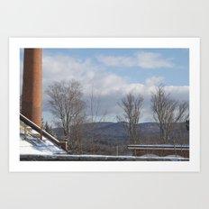 Power Planted Art Print