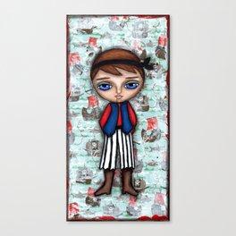 Little Pirate Boy 3 Canvas Print