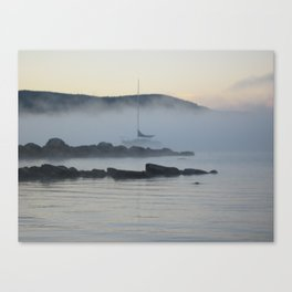 Boat in the Water Canvas Print