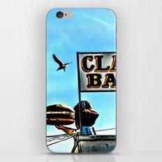 Coney Island Clam Bar iPhone & iPod Skin