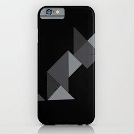 Le chat noir iPhone Case
