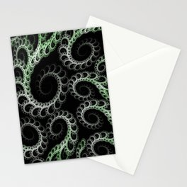 Tentacles Green Stationery Cards