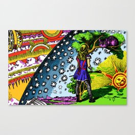 Starry Wonderland Canvas Print