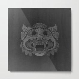 Protector - Mono Metal Print