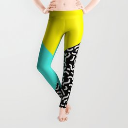 Memphis pattern 27 Leggings