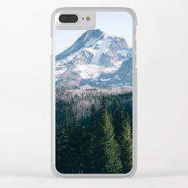 Mount Hood XXI Clear iPhone Case