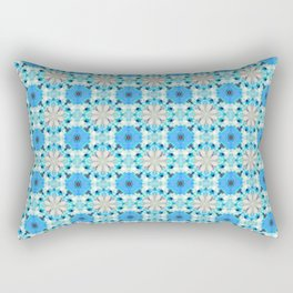Frost Pattern Rectangular Pillow