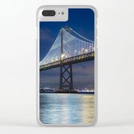 Bay Bridge, San Francisco Clear iPhone Case