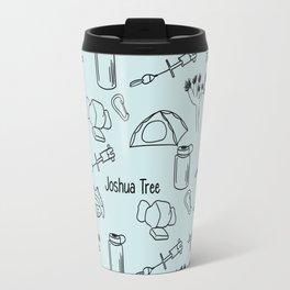 Blue Joshua Tree Print Travel Mug