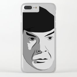 Highly Illogical Clear iPhone Case