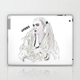 Grimes//Genesis Laptop & iPad Skin