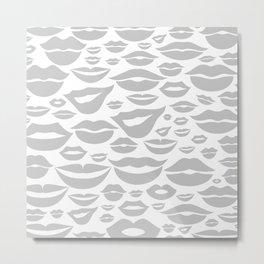 Lip a background2 Metal Print