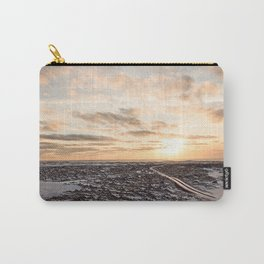 Snaefellsnes- Snowy Road Carry-All Pouch
