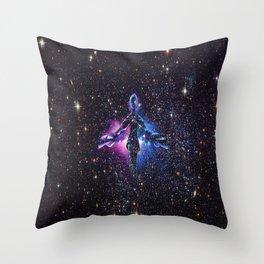 daughter of the nebula Throw Pillow