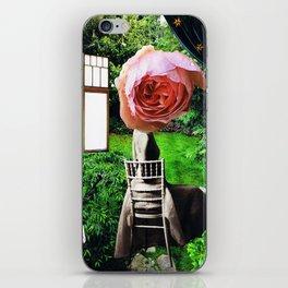 garden seat - collage iPhone Skin