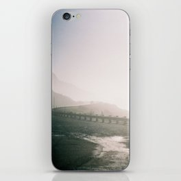 winding road iPhone Skin