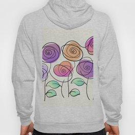 Half A Dozen Roses Hoody