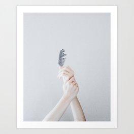 sinking (vertical) Art Print
