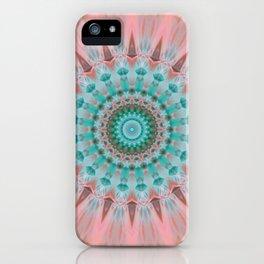 Mandala tender soul iPhone Case