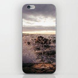 Angry Lake iPhone Skin
