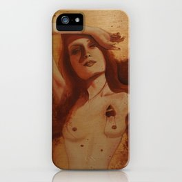 Mourning After iPhone Case