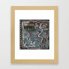 Scylla & Charybde  Framed Art Print