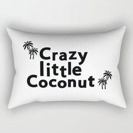 Crazy Little Coconut Rectangular Pillow
