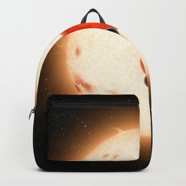 643. Where the Sun Sets Twice Artist Concept Backpack