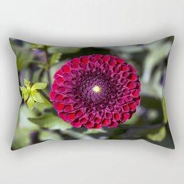 Dahlia In The Garden / 32 Rectangular Pillow