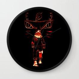 Noisy Ninja Wall Clock