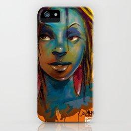 Afro Brazilian iPhone Case