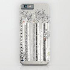 BRICH TREES & BIRDS iPhone 6s Slim Case