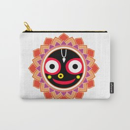 Jahannatha Mandala, Hare Krishna, The Lord of the Universe, Big Smile Carry-All Pouch