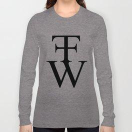 Fuck Fuck Will - Logo Long Sleeve T-shirt
