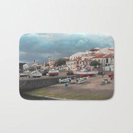 Portuguese harbour Bath Mat